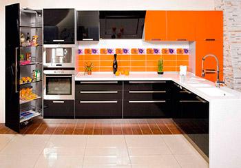 Кухню из акрила