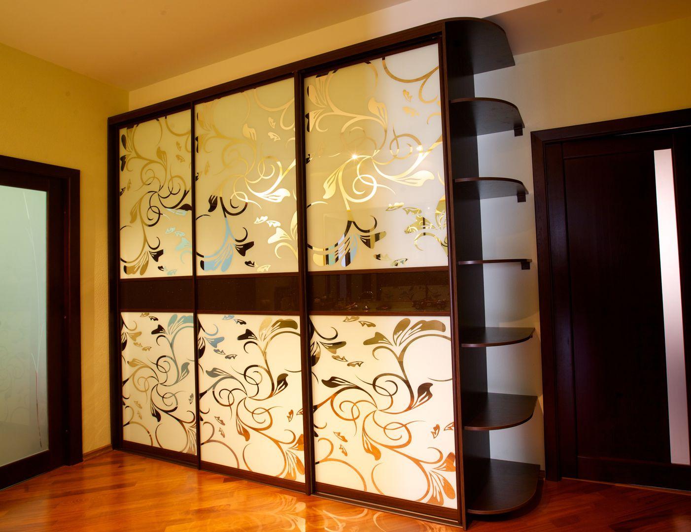 Шкафы купе дизайн фасадов для прихожей