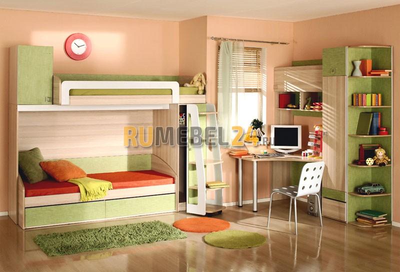 ed2b37bf86a0 Детская мебель для двоих детей. Мебель для разнополых и однополых ...